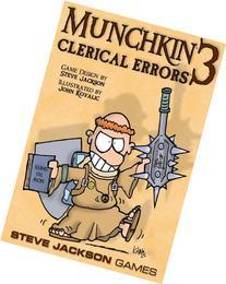 Munchkin Clerical Errors