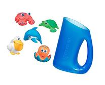 Munchkin Deluxe Bath Set: Five Sea Squirts with Shampoo