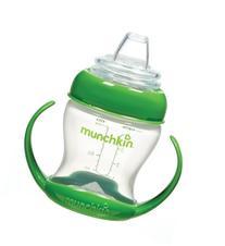 Munchkin Flexi Transition Cup, Green, 4 Ounce
