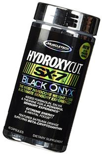 Muscletech Products - Hydroxycut SX-7 Black Onyx - 80