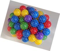 "My Balls by CMS Pack of 800 2.5"" 65mm Ball Pit Balls in 5"