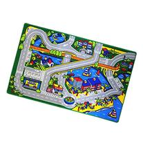 Mybecca Kids Rug Harbor Children Area Rug 5' X 7'  Race