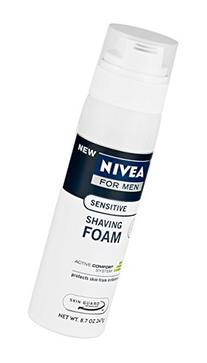 NIVEA MEN Sensitive Shaving Foam with Skin Guard, 8.7 oz