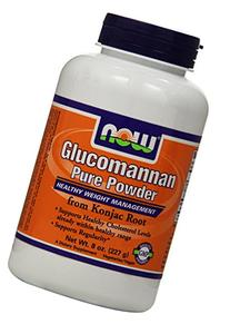 NOW Foods Glucomannan 100% Pure Powder - 8 oz