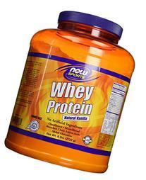 NOW Foods - Whey Protein Vanilla - 6 lbs