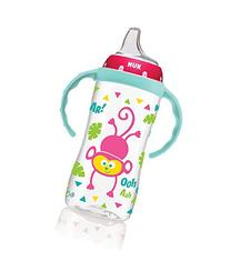 NUK Large Learner Cup, Pink Jungle Designs, 10oz 1pk