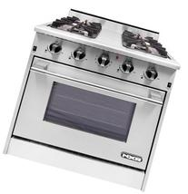 "NXR DRGB3001 30"" Pro-Style Gas Range With 4 Sealed Burners 4"