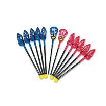 MAC-T PE07171E 2-n-1 Soft Lacrosse Set, 12 Sticks/6 Balls,