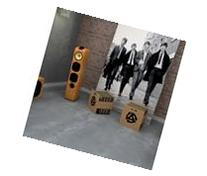 Natural 45-insert Graphic Record/ LP Crate