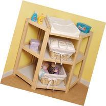 Natural Diaper Corner Changing Table