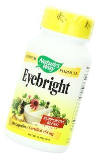 Nature's Way - Eyebright, 100 capsules