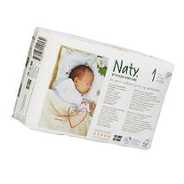 Naty by Nature babycare Eco-Diapers, Size 1 26 ea