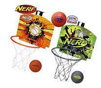 Nerf N-Sports Nerfoop Basketball Hoop Orange/Black, Green/