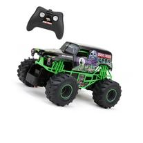New Bright 2430 Monster Jam Grave Digger RC Truck, 1:24
