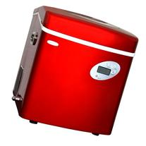 Newair AI-215R Red Portable Ice Maker with 50-Pound Daily