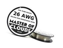 Ni200 - 100 ft 26 Gauge AWG Pure Nickel 200 Non Resistance