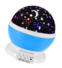 Night Lighting Lamp  USB Cord ] Romantic Rotating Cosmos