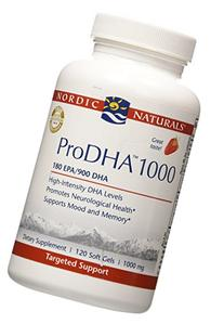 Nordic Naturals - ProDHA Strawberry 1000 mg 120 softgels
