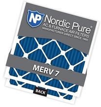 Nordic Pure 12x12x1M7-6 MERV 7 Pleated AC Furnace Air Filter