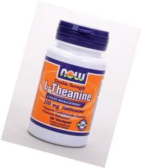 Now Foods: L-Theanine Stress Management 200 mg, 60 vcaps