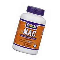 Now Foods N-Acetyl-Cysteine Tablet, 1000 mg, 120 Count