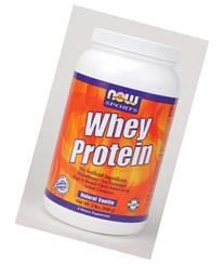 Now Foods Whey Protein Natural Vanilla - 2 lbs. 6 Pack
