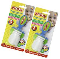 Nuby 6 Pack Replacement Nets for the Nibbler