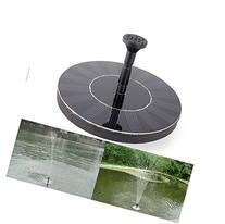 O-Best Solar Powered Water Pump Garden Fountain Pond Feature