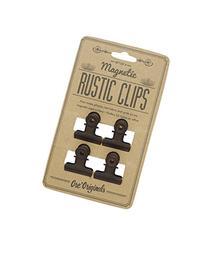 Ore Originals Magnetic Rustic Clips, 4 Count