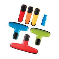 OXO Chip Bag Clip Set, Assorted Colors