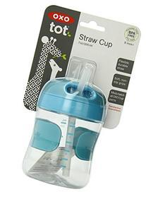 OXO Tot Twist Lid Straw Cup  - Aqua
