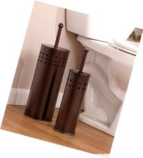 Oil Rubbed Bronze Toilet Brush and Toilet Plunger Set