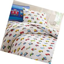 Olive Kids Trains, Planes, Trucks Twin Duvet Cover