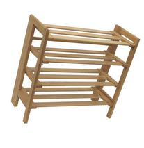 Shoe Rack- Shoe Rack Foldbl Nat From Winsome Wood