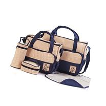 OrangeTag 5 Piece Set Diaper Bag, Great value fashionable