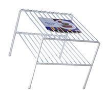 Organized Living Large Double Cabinet Shelf - White
