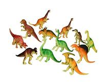 "Oriental Trading  6"" - 7"" Assorted PVC Dinosaurs Action"