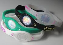 Original Power Balance - White W/pink Lettering - Small