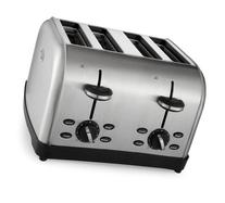 Oster 4-Slice Toaster, Brushed Stainless Steel