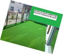 Ottomanson Evergreen Collection Indoor/Outdoor Green