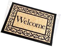 """Ottomanson Ottohome Collection  Welcome Door Mat Rug, 20"""" x"""