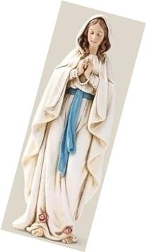 Our Lady of Lourdes Saint Virgin Mary Statue Figure 6 Inch
