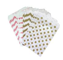 Outside the Box Papers Polka Dot Paper Treat Sacks 5.5 x 7.5