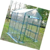 Outsunny 5' x 5' x 6' Portable Walk In Garden Steeple