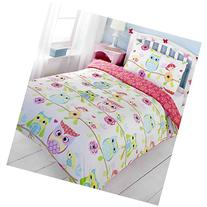 Owl and Friends Junior/Toddler Duvet Cover and Pillowcase