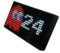 PAC-MAN Premium LED Desk Clock - 512 Vibrant LED's Display