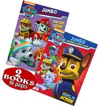 PAW Patrol Coloring and Activity Book Set  Chase, Rocky,
