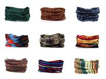 KINGREE 9PCS Headbands, Outdoor Multifunctional Headwear,