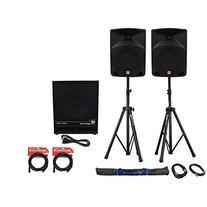 Package:  Rockville RPG10 2-Way DJ/PA Powered Speakers