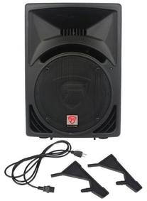Rockville 2-Piece RPG12 1600 Watt 2-Way DJ/PA Powered
